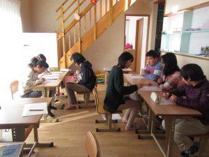 毎日の個別学習 みんな勉強も頑張ろう。