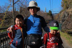 横川アプトのハイキング 紅葉の碓氷峠をあるきました。