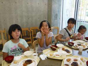 夏合宿 夕食おいしい!!