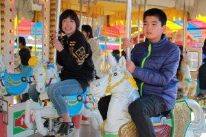 冬の華蔵寺公園 少し寒かったけれど、楽しめました。