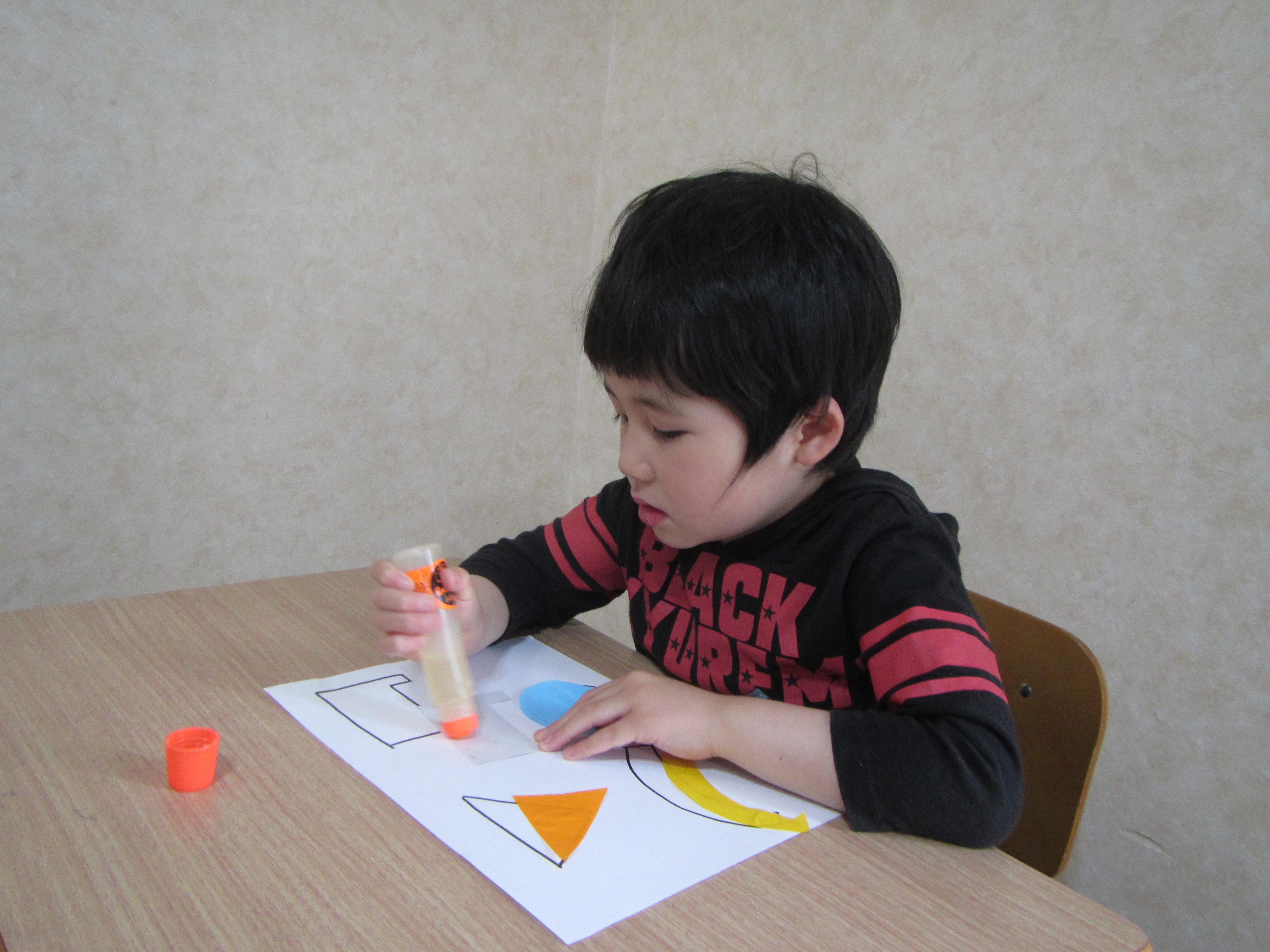 毎日のお勉強 一年生のお友達も楽しく勉強。
