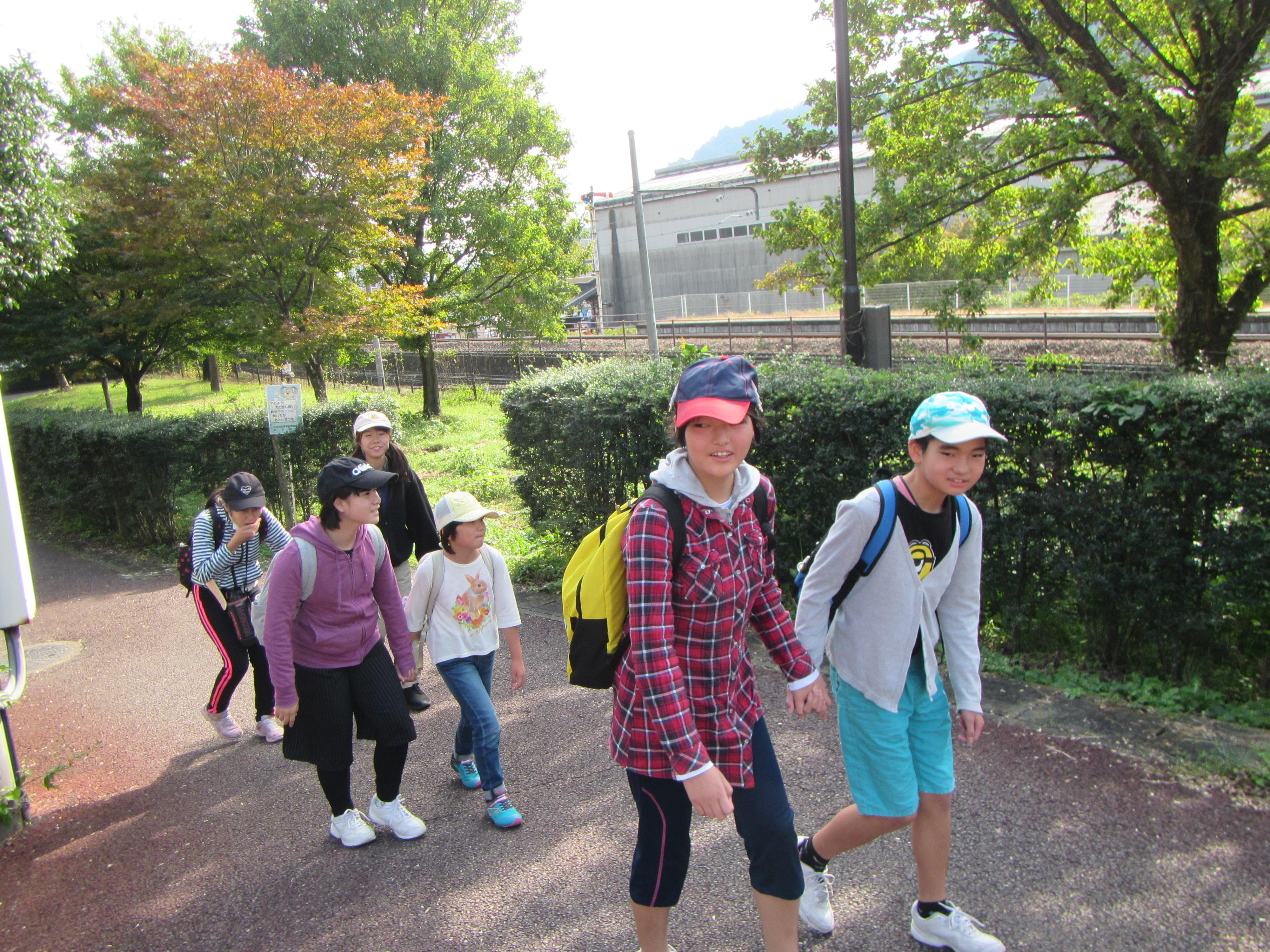 横川ハイキング 【碓氷峠の森公園】目指して出発!!
