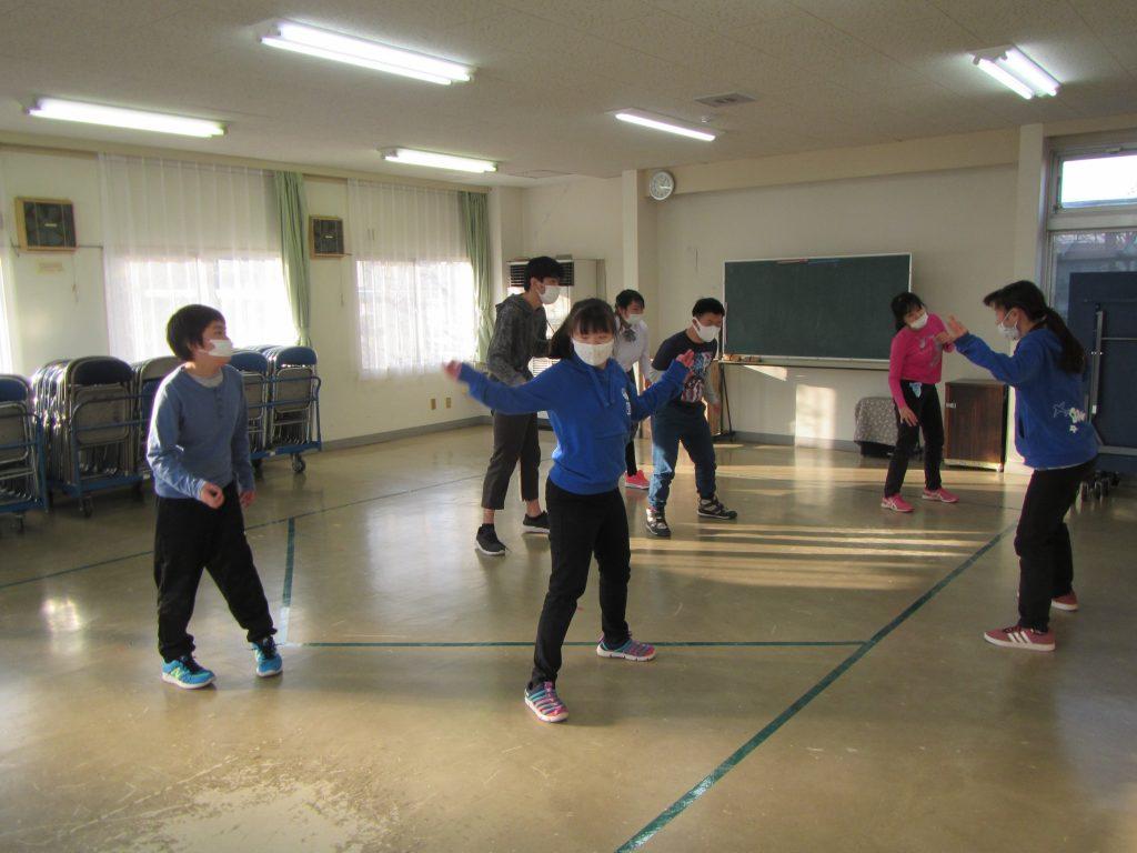 活動の様子 ダンス!! みんな大好き。