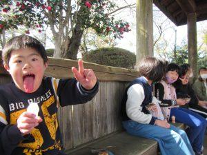 桜山公園ハイキング 初めて山頂まで登れました。