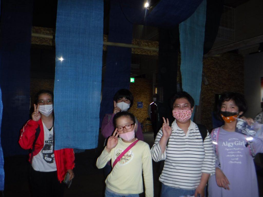 渋沢栄一ドラマ館 昔は深谷で藍染めしていたんですね。