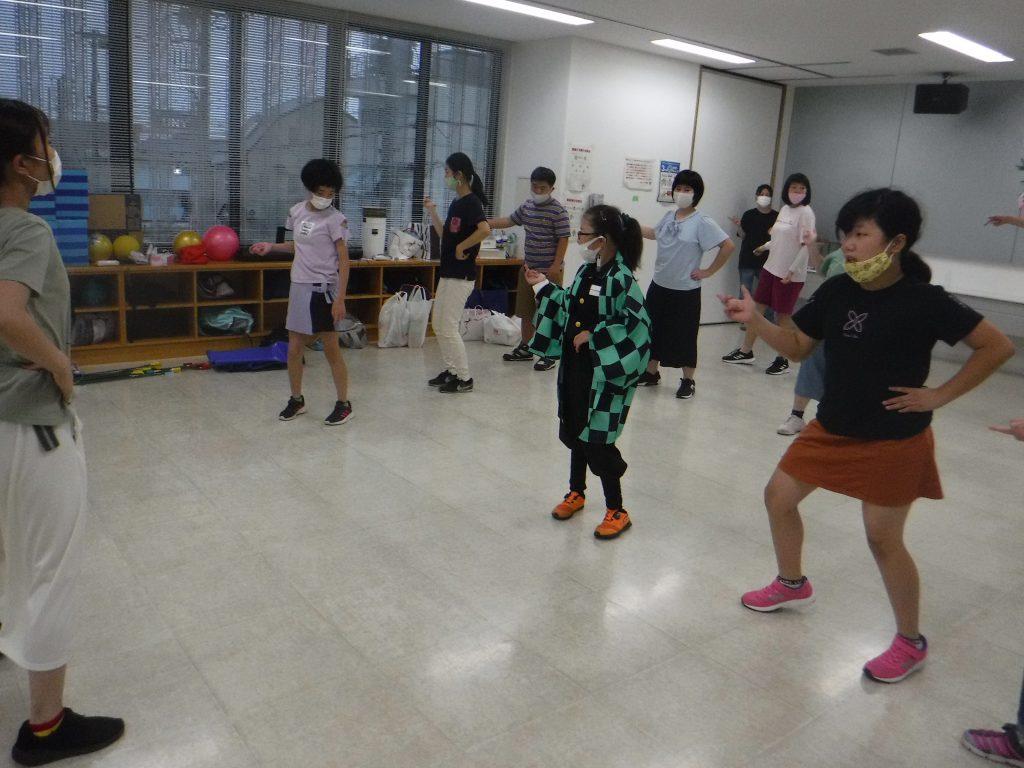 七夕パーティー 最後はやっぱりダンスでしょう